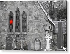 Acrylic Print featuring the photograph The Church 2 by Christopher Rowlands