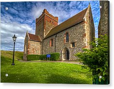 The Church At Dover Castle Acrylic Print by Tim Stanley