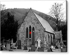Acrylic Print featuring the photograph The Church by Christopher Rowlands