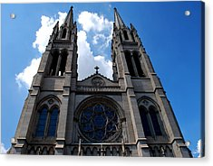 Acrylic Print featuring the photograph The Church by Matt Harang