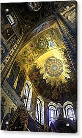 The Church Of Our Savior On Spilled Blood 2 - St. Petersburg - Russia Acrylic Print