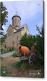 The Church Of St Nicolas Inside The Narikala Fortress Tbilisi Acrylic Print