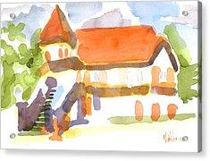 The Church On Shepherd Street V Acrylic Print by Kip DeVore