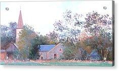 The Church Spire Acrylic Print by Jan Matson