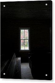The Church Window Acrylic Print