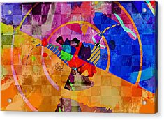 The Circle Game Acrylic Print by Allen Beilschmidt