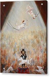 The Circus Acrylic Print by Stella Violano