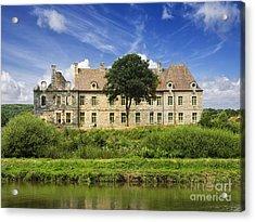 The Cistercian Abbey De Bon Repos Cotes D'armor Brittany France  Acrylic Print by Jon Boyes