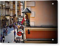 The City Can See You Acrylic Print by Joanna Madloch