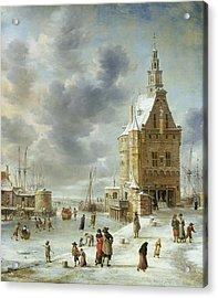The City Gate Of Hoorn  Acrylic Print