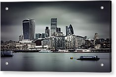 The City Of London Acrylic Print