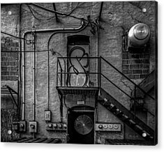 The City Is A Poem  Acrylic Print by Bob Orsillo