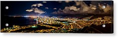 The City Of Aloha Acrylic Print