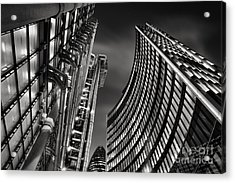 The City Acrylic Print by Rod McLean