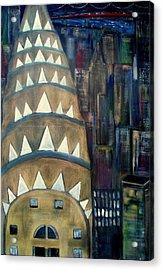 The City That Never Sleeps Acrylic Print by Rick Todaro