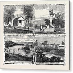 The Civil War In America Sketches From Richmond Virginia Acrylic Print