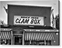 The Clam Box Acrylic Print by Joann Vitali