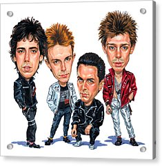 The Clash Acrylic Print by Art
