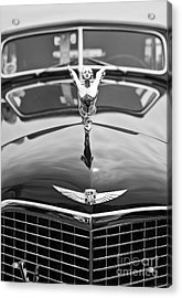 The Classic Cadillac Car At The Concours D Elegance. Acrylic Print by Jamie Pham