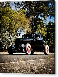 The Classic Hot Rod Acrylic Print by motography aka Phil Clark