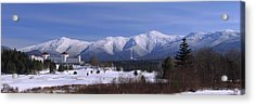 The Classic Mount Washington Hotel Shot Acrylic Print