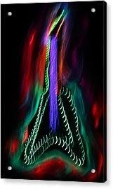 The Classic V 1 Acrylic Print by Patrick Daniel Trombly