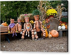 Acrylic Print featuring the photograph The Clay Family by Vinnie Oakes