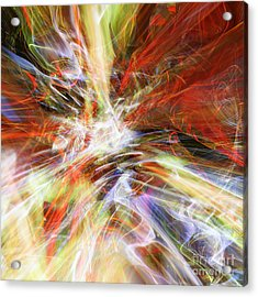 Acrylic Print featuring the digital art The Cleansing by Margie Chapman