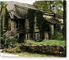 The Clearing Lodge Acrylic Print by David Blank