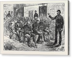 The Clerkenwell House Of Correction The Oakum Shed 1874 Acrylic Print