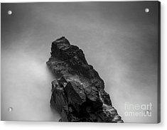 Acrylic Print featuring the photograph The Cliff by Gunnar Orn Arnason