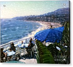 The Cliff Laguna Beach Acrylic Print