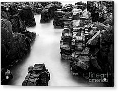 Acrylic Print featuring the photograph The Cliffs by Gunnar Orn Arnason