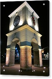 The Clock Tower Acrylic Print by Guy Ricketts
