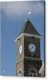 The Clock Tower Acrylic Print by Rhonda Humphreys