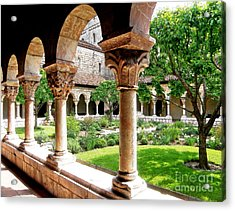 The Cloisters Acrylic Print by Sarah Loft