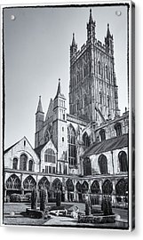 Acrylic Print featuring the photograph The Cloisters by Stewart Scott