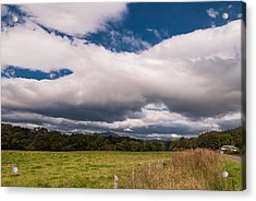 Acrylic Print featuring the photograph The Clouds by Sergey Simanovsky