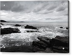 The Cloudy Day In Acadia National Park Maine Acrylic Print
