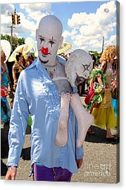 Acrylic Print featuring the photograph The Clown by Ed Weidman