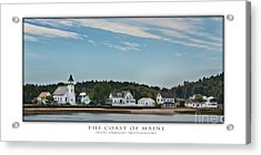 The Coast Of Maine Acrylic Print