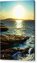 The Coast Of Maine Acrylic Print by Olivier Le Queinec