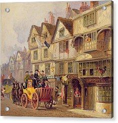 The Cock Tavern Acrylic Print by Albert Joseph Moore