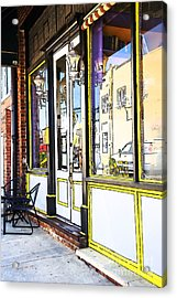 The Coffee Shop Acrylic Print by Jim  Calarese
