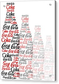 The Coke Project Acrylic Print