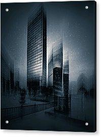 The Coldest City Acrylic Print