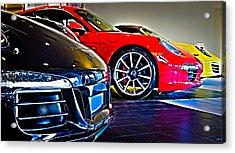 The Color Of Porsche Acrylic Print