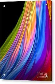 The Color Of Rain Acrylic Print