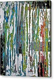 The Color Of Rain II Acrylic Print by James Mancini Heath