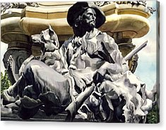 The Colorado Settler Acrylic Print by Alfred Ng